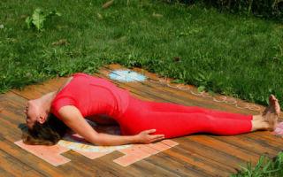 Список полезных упражнений в момент хронического панкреатита