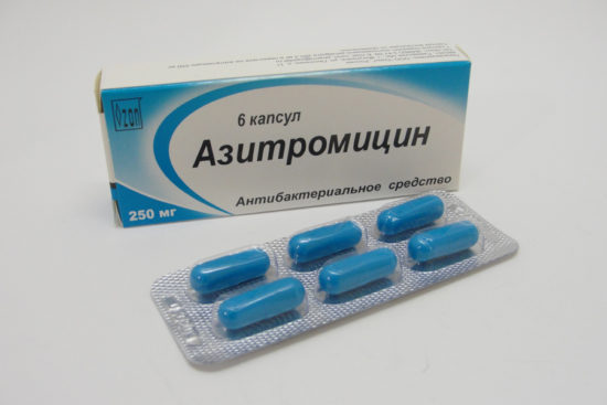антибиотики при воспалении яичников