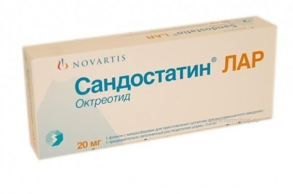 Сандостатин при панкреатите